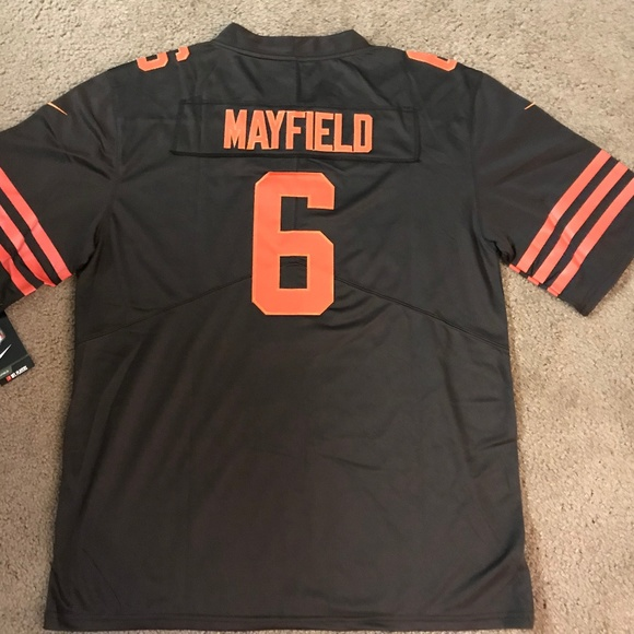 pretty nice d824e bd3e8 Cleveland Browns Baker Mayfield Jersey Color Rush NWT